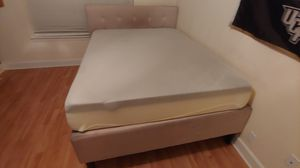 Queen Mattress, Bed Frame, and Box Spring for Sale in Orlando, FL