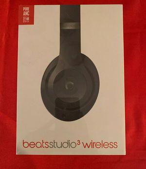Sealed Beats Studio 3Wireless Headphones Black for Sale in Tulare, CA