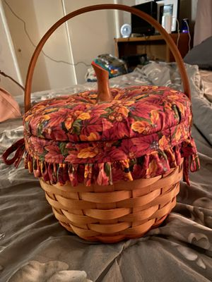 Pumpkin Longaberger Basket for Sale in Chico, CA