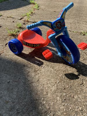 Paw patrol tricycle for Sale in Durham, NC