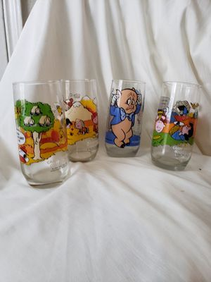 Snoopy glasses collectables for Sale in Cypress, TX