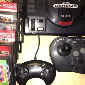 Original Sega Genesis Console Bundle for Sale in Sycamore, IL