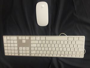 Apple Keyboard and Wireless Mouse for Sale in Seattle, WA