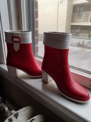 Red Rain Boots for Sale in Seattle, WA