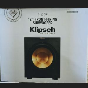 KLIPSCH REFERENCE R-12SW SUBWOOFER BRAND NEW IN UNOPENED BOX 📦!! for Sale in West Covina, CA