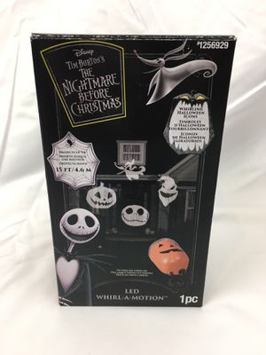 Nightmare Before Christmas Jack Skellington Projector Halloween for Sale in Thornton, CO