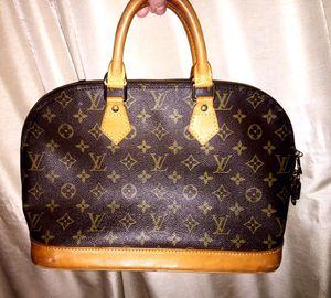 Authentic Louis Vuitton handbag alma monogram for Sale in Manassas, VA