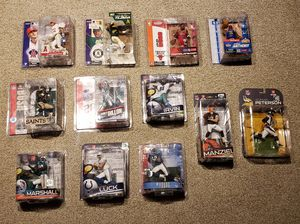 Awesome Lot of 12 McFarlane Toys SportsPicks NFL NBA MLB Action Figures Sealed for Sale in Aurora, CO