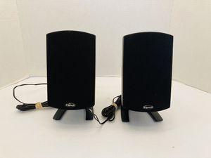 Klipsch Powerful Pair Of Satellite Desk Speakers for Sale in Spring Hill, FL