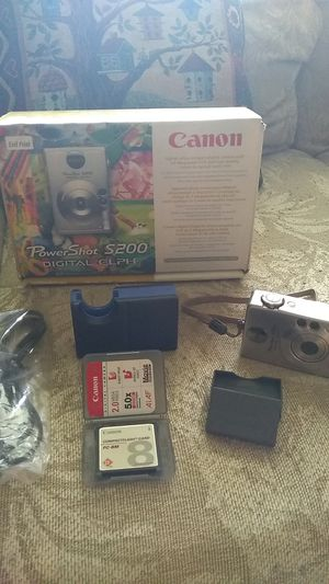 Canon PowerShot S200 Digital camera for Sale in North Manchester, IN