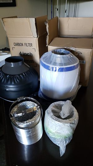 Carbon filter and inline fan for Sale in Westminster, CO