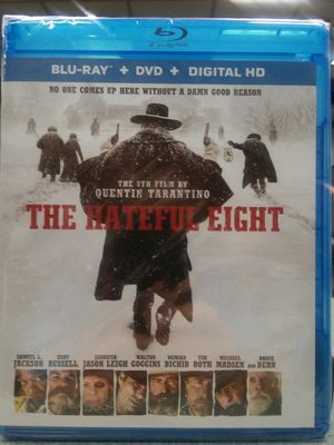 The Hateful Eight Blu-ray DVD Combo No Digital Code for Sale in Los Angeles, CA