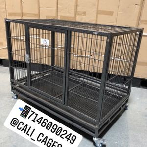 "Dog Pet Cage Kennel Size 37"" Medium New In Box 📦 for Sale in Montclair, CA"