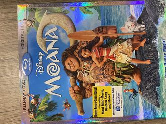 moana blue ray for Sale in El Paso,  TX