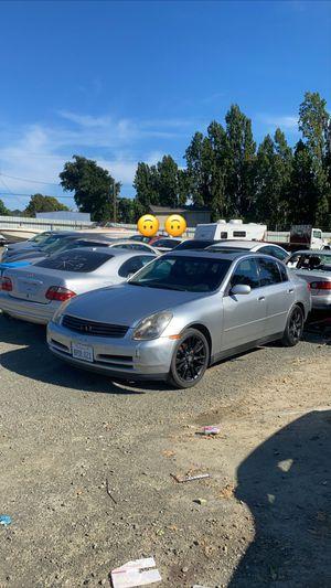 2003 Infiniti G35 Sedan for Sale in Vallejo, CA