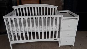 """""""Nice Dream on Me"""" Crib with Changing Table for Sale in Garland, TX"""