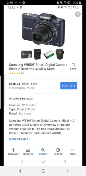 New Samsung digital camera for Sale in Ocala, FL