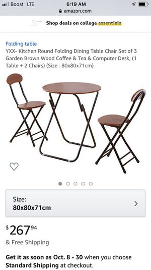 Kitchen table $120 chairs included! for Sale in Oakland Park, FL