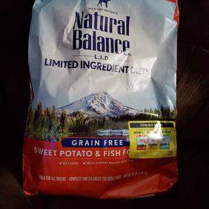 Natural Balance Fish And Sweet Potato Dog Food for Sale in Napa, CA