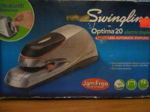 Swingline Optima 20 Stapler Electric/Battery for Sale in Joplin, MO
