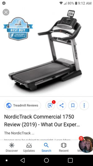 GOLDSGYM. Adistion treadmill for Sale in Westfield, NY