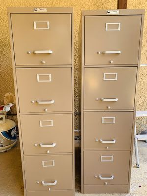 FILING CABINET (2 PIECES) for Sale in Las Vegas, NV