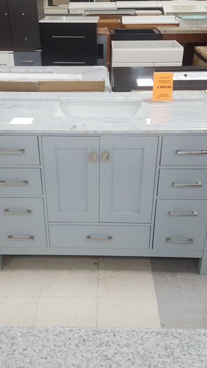 Vanity with Marble Top- Luxury 48in for Sale in Orlando, FL