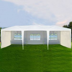 New Outdoor Canopy Gazebo party event backyard wedding tent lawn cover large 10 x 30 yard 91277 for Sale in Campbell, CA