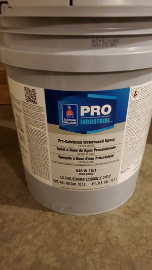 5 gallons sherwin Williams pre-catalyzed epoxy for Sale in Boonville, MO