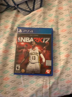 2K17 for PS4 for Sale in Glendale Heights, IL