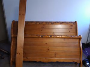 King size bed frame for Sale in Detroit, MI