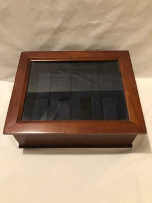 Hand made 8 watch display case for Sale in Vacaville, CA