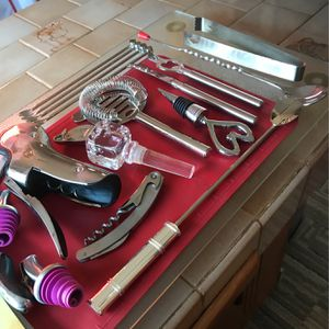 Complete Wine Accessories Set for Sale in Clifton, NJ