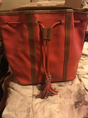 Red satchel bag with tassel for Sale in University City, MO
