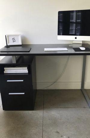 Black office desk for Sale in Norwalk, CA