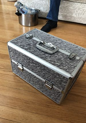 Zebra Print Jewelry/Storage Box for Sale for sale  Milltown, NJ