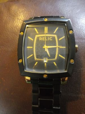 RELIC DRESS WATCH BY FOSSIL for Sale in Magnolia, TX