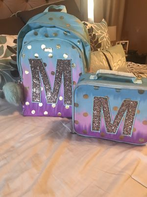 Girls Justice Backpack & Lunch Box for Sale in West Carson, CA