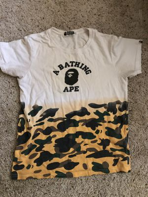 A Bathing Ape T-Shirt (SZ: small) for Sale in Apex, NC