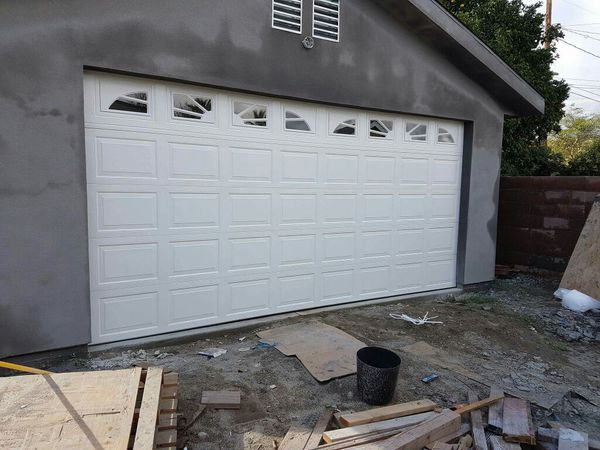 New garages door