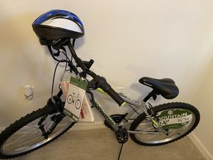 Brand new bike 24 with helmet is use $150 only serios person please for Sale in Winter Haven, FL