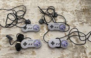 Super Nintendo (SNES) Authentic / Original Controllers - $20 EACH for Sale in Kent, WA