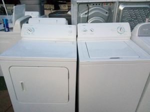 Kenmore extra large-capacity washer and dryer set heavy duty and with warranty for Sale in Fresno, CA