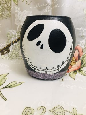 Jack Nightmare Before Christmas Makeup 💄 Brush Holder for Sale in National City, CA