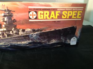 Aurora Graf Spee Model Kit For Sale In Baltimore MD