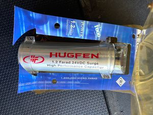 Brand New Hugfen Capacitor For Car Audio Stereo Sound System for Sale in San Diego, CA