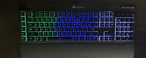 Corsair Gaming K55 RGB Keyboard, Backlit RGB LED with Corsair CH-9301011-NA Gaming Harpoon RGB Gaming Mouse for Sale in Lexington, KY