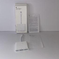 Apple USB-C Multi port Adapter (Hdmi, 3.0 USB, USB-C) for Sale in San Bernardino,  CA