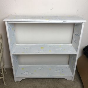 KIDS LIGHT BLUE HANDPAINTED BOOKCASE for Sale in Lake Forest, CA