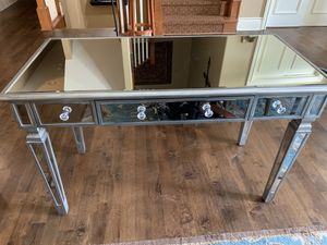 Mirrored desk for Sale in Wichita, KS